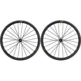 Mavic Ksyrium Elite UST Disc Laufradsatz Center-Lock schwarz